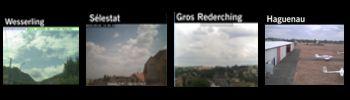 Retrouvez les webcams d'Alsace